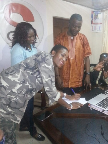 Zainab Sheriff Signs Music Record Deal.