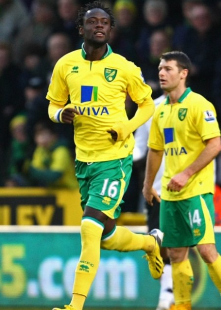Kei Kamara at Norwich City FC