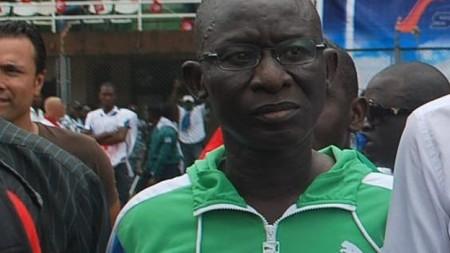 Minister of Sports Paul Kamara