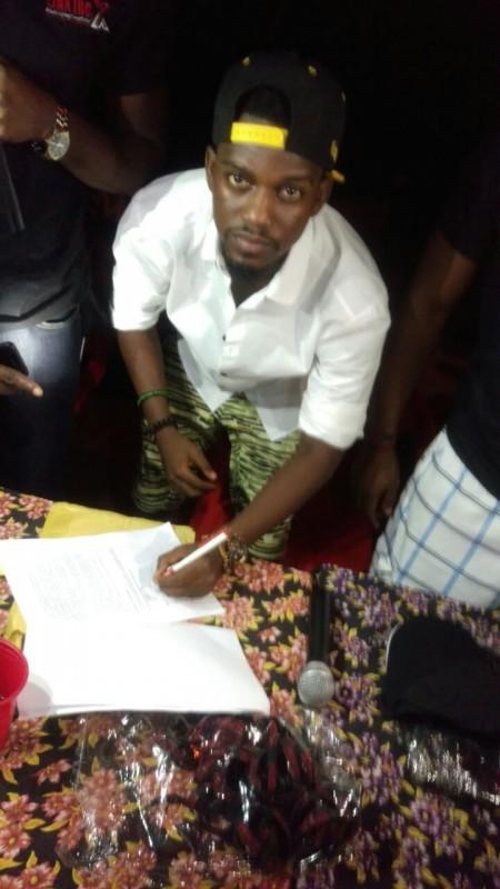 YungSal Signing