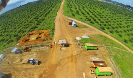 Aerial view of Socfin Sierra Leone Source: FB/Socfin Sierra Leone