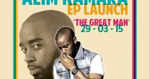 Alim Kamara The Great Man Launch EP