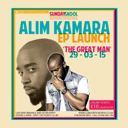 Alim Kamara The Great Man Launch EP