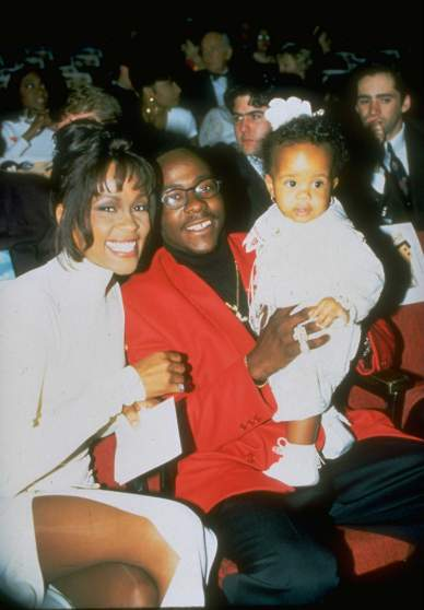 Bobbi Kristina Brown;Whitney Houston;Bobby Brown [& Family]