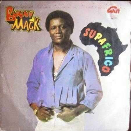Bunny Mack Album cover-Supafrico