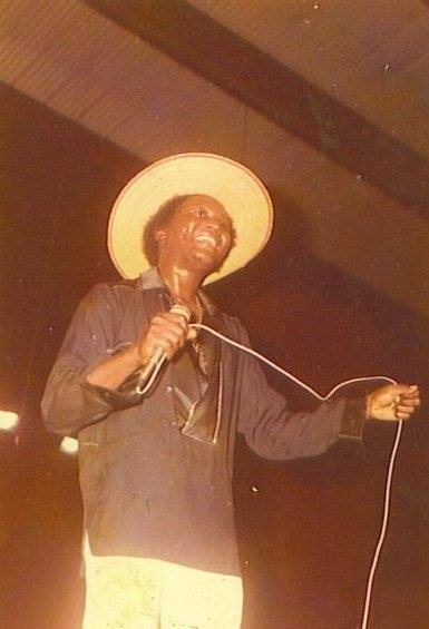 Bunny Mack on Stage circa-1983