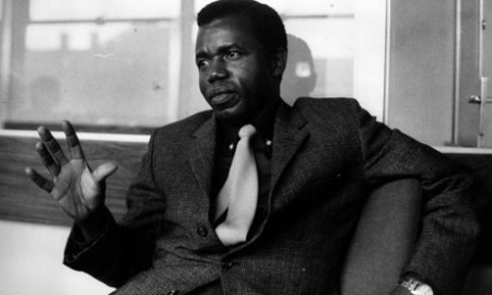 Mr Achebe in 1967 Photo (c) Micheal Neal