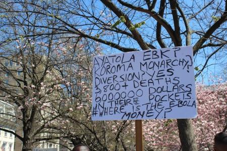Concerned Citizens protest-Sierra Leone-Lafayette Park_April 201511
