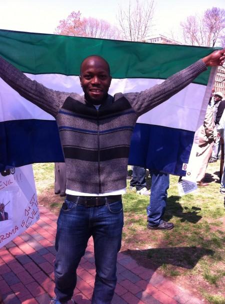Concerned Citizens protest-Sierra Leone-Lafayette Park_April 20153