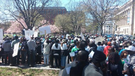 Concerned Citizens protest-Sierra Leone-Lafayette Park_April 20155