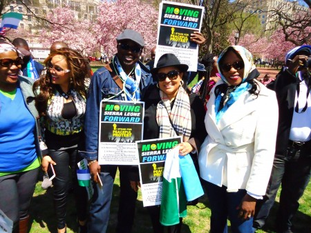 Concerned Citizens protest-Sierra Leone-Lafayette Park_April 20157