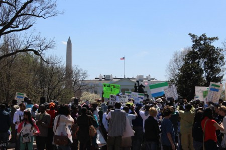 Concerned Citizens protest-Sierra Leone-Lafayette Park_April 20159