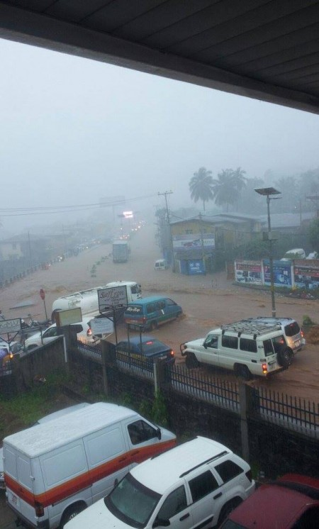 Congo Cross-Murray Town Junction Floods