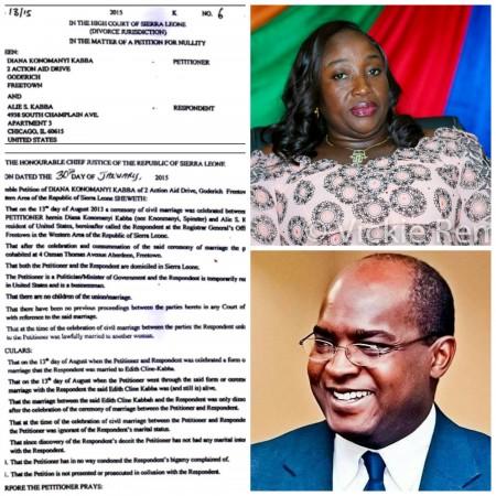 Diana Konomanyi divorces Alie Kabba