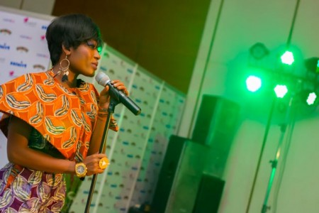Efya performing live in Accra (1 of 1)