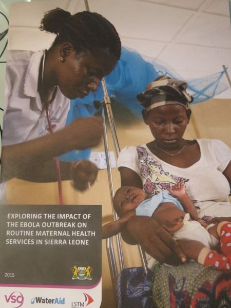 Exploring the Impact of the Ebola Outbreak on Routine Maternal Health Services in Sierra Leone 2