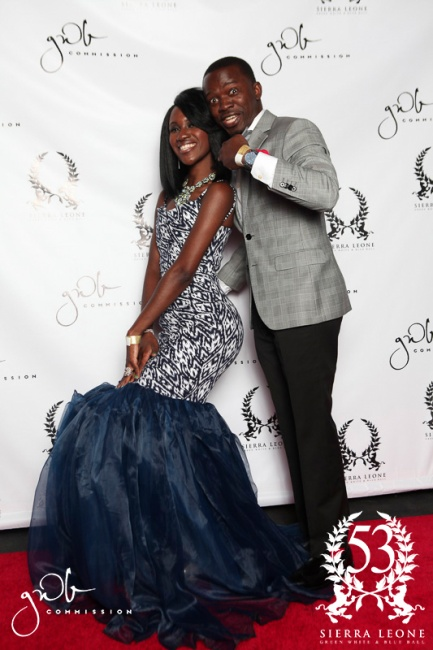 GWB Commission Sierra Leone Independence Ball 2014