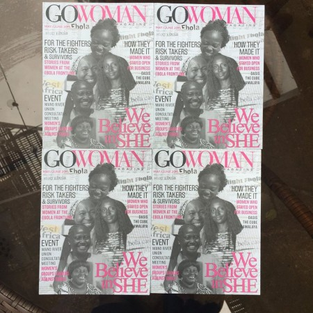 GoWoman Magazine Sierra Leone May June Issue NEW