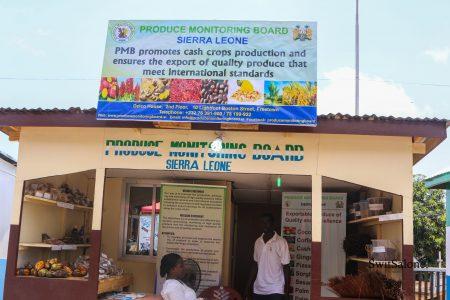 Grind Robusta Coffee-Sierra Leone-Produce-Monitoring-Board-Local-Coffee-Cocoa-Kenema-2
