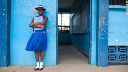 Source: CNN Films: Girl RisingMariama portrait. Photo by Gina Nemirofsky