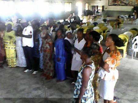 Ebola Survivors Conference in Sierra Leone