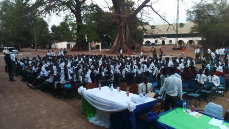 A Cross Section of Students at the Event