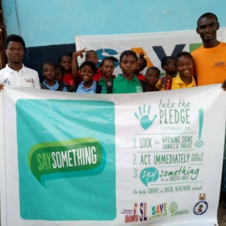 A cross section of Save Promise School Club