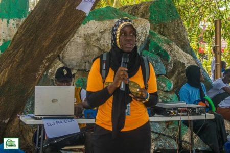 Executive Director, DAQVAH Charity Foundation, Mariam Sedik Kamara (Photo Credit: DAQVAH)
