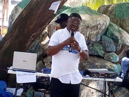 Guest Speaker, Alhaji Mohamed Zanunu Deen (Photo Credit: Eric Kawa)