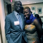 Ronald Wagogo with Vickie Remoe