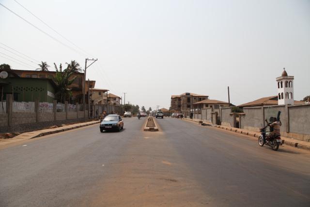 Congo Cross 2-lane motorway, Freetown
