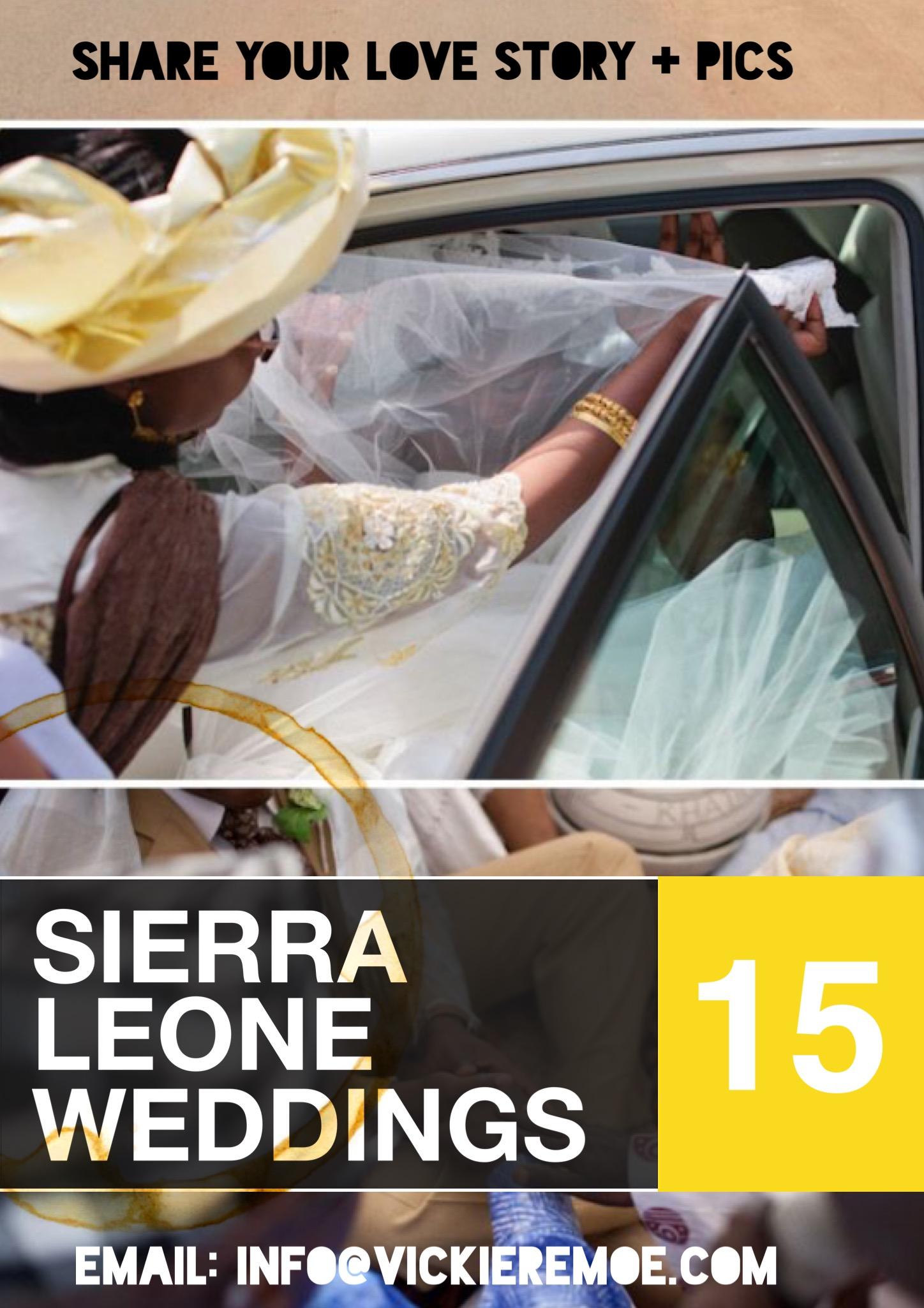 Share Your Sierra Leone Wedding Pics