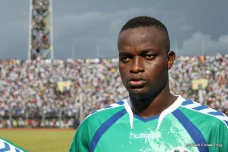 David Simbo alias Mohamed Sesay, Leone Stars Defender, former Black Pool