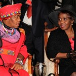 The South African Ambassador to Ghana and the Second lady of South Africa