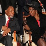 Deputy President of South Africa Kgalema Petrus Motlanthe and his wife, Mapula Motlanthe