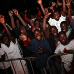 more smiles from the crowd at Big in Ghana 2012
