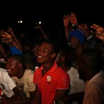 fans at Big in Ghana