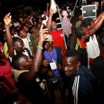 Mensa and Wanlov jamming out to Yaa Pono's performance at Big in Ghana in Accra 2012