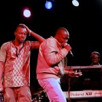 Faint Medal performing with Yaa Pono at Big in Ghana concert in Accra 2012