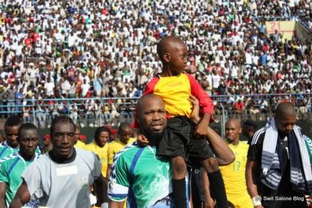 Ibrahim Kargbo, Christian Caulker, Leone Stars