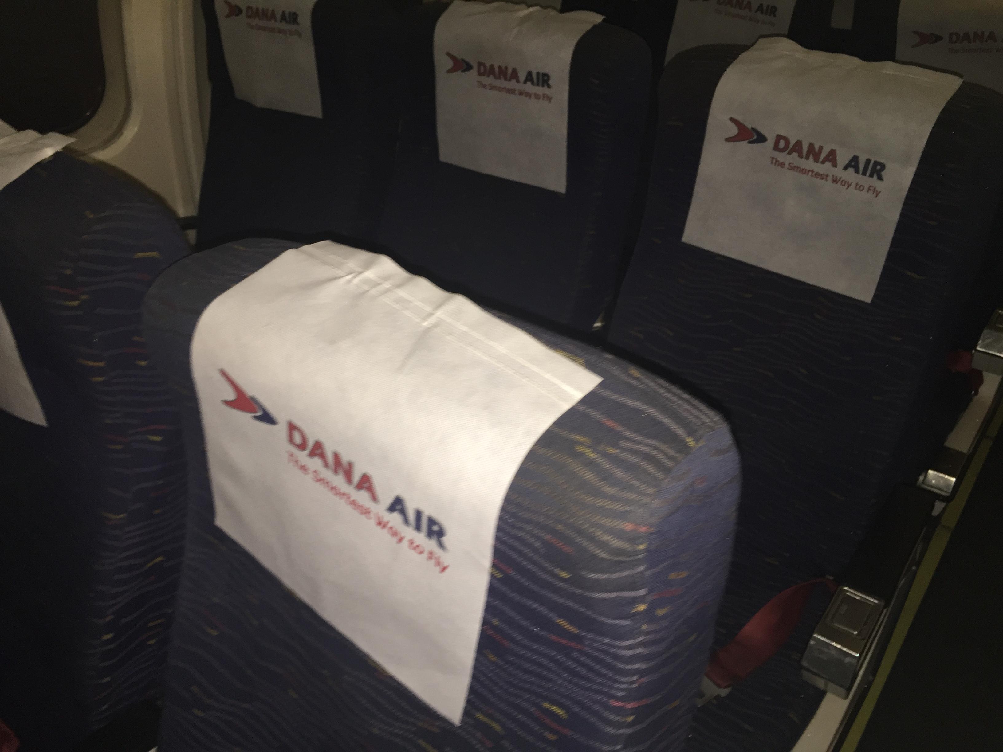 Inside Dana Air-Accra