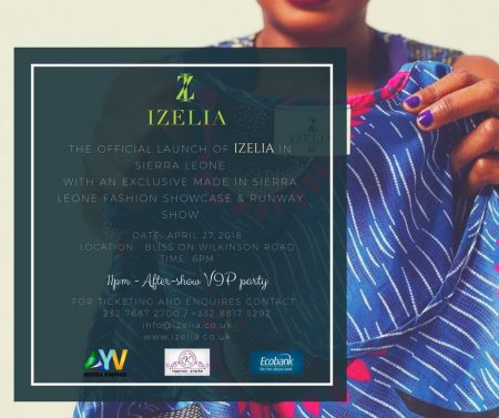 Izelia fashion show bliss