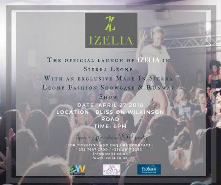 Izelia fashion show sierra leone
