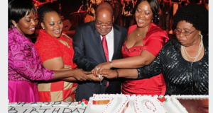 Jacob Zuma and 4 wives