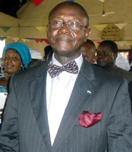 James Sampha Koroma (CEO - Union Trust Bank)
