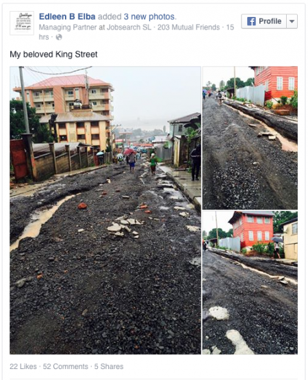 King Street-Freetown-Floods
