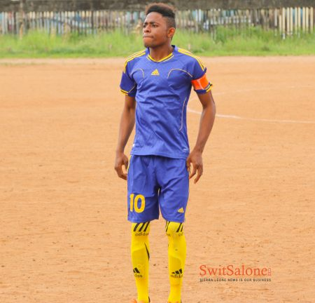 MUSA TOMMY - SIERRA LEONEAN FOOTBALL PLAYER