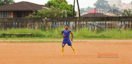 MUSA TOMMY - SIERRA LEONEAN FOOTBALLER-FC LIZO