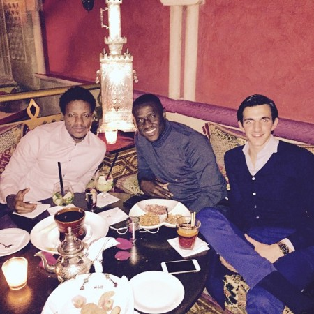Mohamed Kallon, Rodney Strasser reunite in Milan-24_n