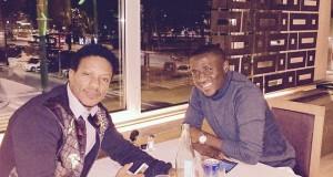 Mohamed Kallon, Rodney Strasser reunite in Milan-46_n